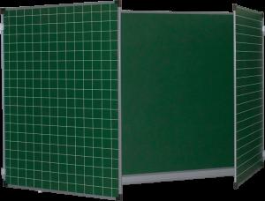 Доска аудиторная ДК 32Э3010 КЛ 3-элементная